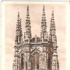 Postales: POSTAL BURGOS - CATEDRAL - EL CRUCERO. Lote 159439794