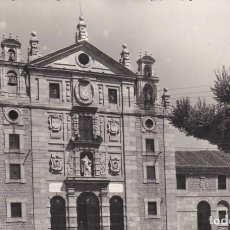 Postales: POSTAL DE ÁVILA - FACHADA PRINCIPAL DEL CONVENTO DE SANTA TERESA. Lote 160288866