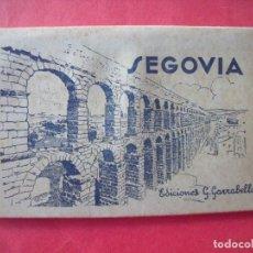 Postales: SEGOVIA.-EDICIONES GARCIA GARRABELLA.-ZARAGOZA.-BLOC DE POSTALES.-POSTALES.. Lote 160464486