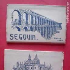 Postales: SEGOVIA.-HELIOTIPIA ARTISTICA ESPAÑOLA.-BLOC DE POSTALES.-POSTALES.. Lote 160469586