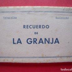 Postales: LA GRANJA.-SEGOVIA.-FOTOGRAFIAS ARTISTICAS.-LA CASA DE LAS MEDIAS.-BLOC DE POSTALES.-POSTALES.. Lote 160469914