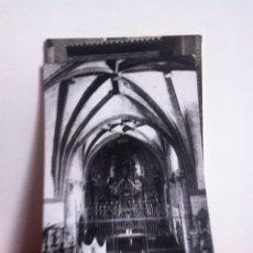 Postales: MORRON DE ALMAZAN ( SORIA ) IGLESIA ASUNCIÓN. USADA 1965. Lote 160495252