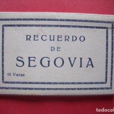 Postales: SEGOVIA.-BLOC CON 10 VISTAS.-POSTALES.. Lote 160535814