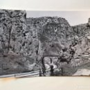 Postales: PANCORBO (BURGOS) POSTAL ANIMADA NO.4048, PUENTE DE LA HORA-DADA. EDITA: C. RIVAS (H.1950?). Lote 161008398