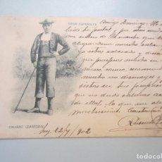 Cartoline: POSTAL ROMO Y FUSSEL HAUSER Y MENET TIPOS ESPAÑOLES CHARRO ZAMORA - SALAMANCA. Lote 161435246