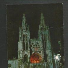 Postales: POSTAL SIN CIRCULAR - BURGOS 13 - CATEDRAL - FACHADA PRINCIPAL - EDITA SICILIA. Lote 161738386