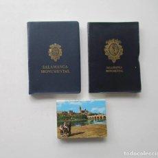 Postales: LOTE DE TRES BLOCS DE POSTALES DE SALAMANCA. Lote 163956078