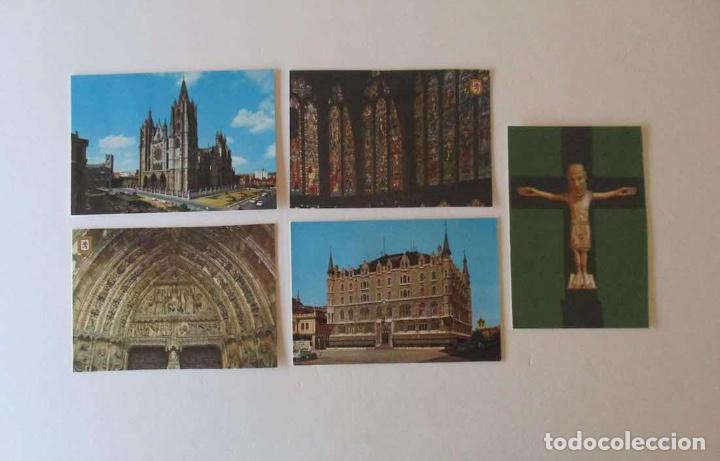 Postales: 18 POSTALES DE LEON - Foto 4 - 163983306