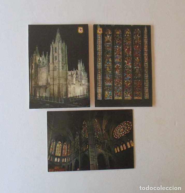 Postales: 18 POSTALES DE LEON - Foto 5 - 163983306