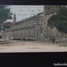 Postales: LEON SAN MARCOS REVERSO SIN DIVIDIR. Lote 164621918