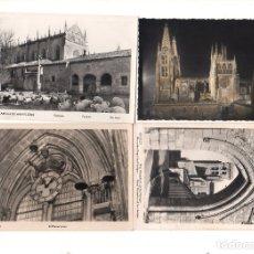 Postales: LOTE DE 4 POSTALES DE BURGOS.. Lote 164678270
