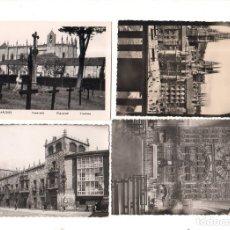 Postales: LOTE DE 4 POSTALES DE BURGOS.. Lote 164678362