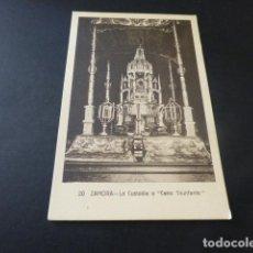 Postales: ZAMORA LA CUSTODIA O CARRO TRIUNFANTE. Lote 165150446