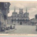 Postales: ASTORGA (LEÓN) CASA CONSISTORIAL Y PLAZA MAYOR.. Lote 165595306