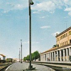 Postales: POSTAL FUENTES DE OROÑO ESTACION FERROCARRIL RENFE SALAMANCA CASTILLA LEON. Lote 165600074