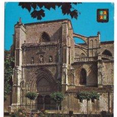 Postales: PALENCIA. PLAZA DE CERVANTES Y CATEDRAL. CIRCULADA EN 1979. Lote 165717846