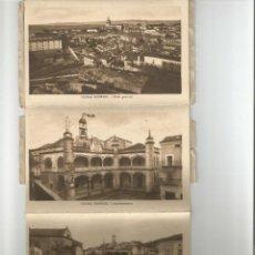 Postales: ALBUM POSTAL CIUDAD RODRIGO SALAMANCA-10 POSTALES- LIBRERIA DOLORES CEJUDO-TAPAS ALGO DESGASTADAS. Lote 165786802