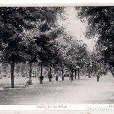 Postales: TARJETA POSTAL DE BURGOS. PASEO DE LA ISLA. COLECCION GARCIA.. Lote 165943310