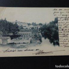 Postales: SEGOVIA LA FABRICA DE MONEDA Y EL PARRAL ED. LAURENT REVERSO SIN DIVIDIR Nº 1. Lote 166098294