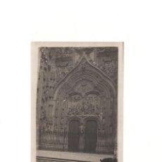Postales: SALAMANCA.- PORTAL DE LA CATEDRAL. 14 X 9 CM. Lote 166792090