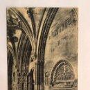 Postales: LEON. POSTAL, CATEDRAL. DETALLE DEL CLAUSTRO. EDITA: H. A. E. (H.1940?) NO CIRCULADA... Lote 166929317