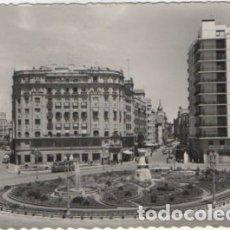 Cartes Postales: POSTAL DE VALLADOLID. PLZA DE ZORRILLA Y CALLE SANTIAGO A LA DERECHA P-CASTLE-1239. Lote 167315764