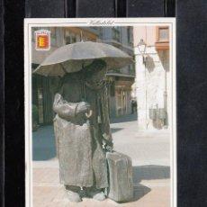 Cartes Postales: 143. VALLADOLID. PLAZA MARTIN Y MANSO. ESTATUA AL COMEDIANTE. Lote 167660192