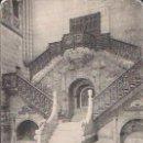 Postales: BURGOS.CATEDRAL.ESCALERA DE LA CORONERÍA.ECRITA Y CIRCULADA EN 1911. Lote 167669656