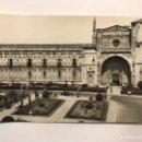 Postales: LEON. POSTAL ANIMADA NO.46, IGLESIA DE LOS JESUITAS Y SAN MARCOS. EDITA: ED. PARIS (H.1950?). Lote 167858409