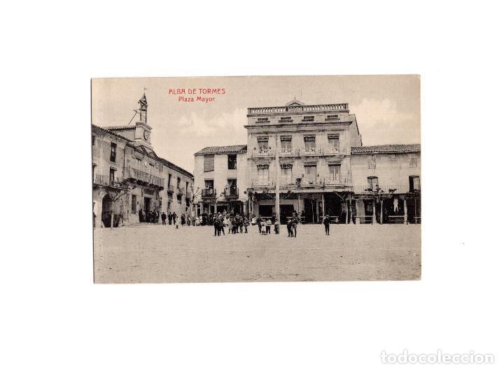 ALBA DE TORMES.(SALAMANCA).- PLAZA MAYOR. (Postales - España - Castilla y León Antigua (hasta 1939))
