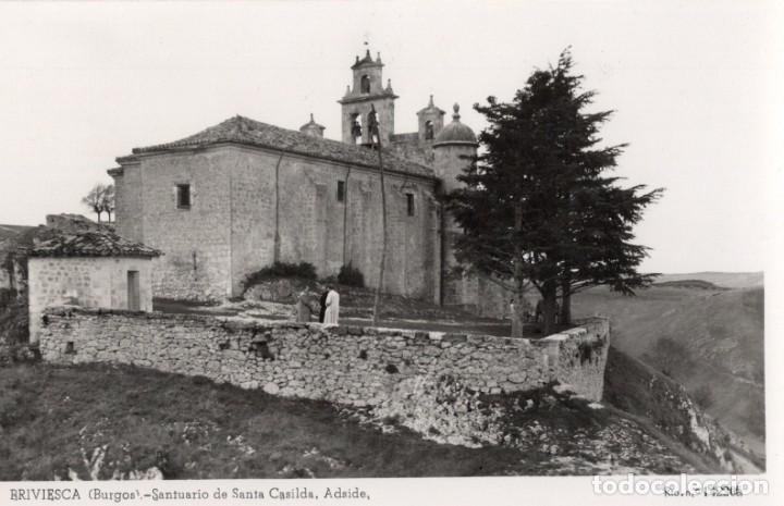 BRIVIESCA. SANTUARIO SANTA CASILDA (Postales - España - Castilla y León Moderna (desde 1940))