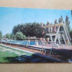 Postales: POSTAL PALENCIA, CIUDAD DEPORTIVA, PISCINA. Lote 168451832