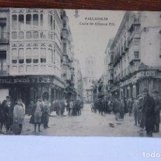Postales: POSTAL CALLE DE ALFONSO XII, ANIMADA, HAUSER Y MENET. Lote 168507588