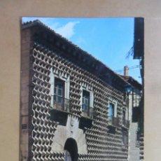 Postales: POSTAL - 86 - SEGOVIA - CASA DE LOS PICOS - ED. GARCIA GARRABELLA. Lote 168850128
