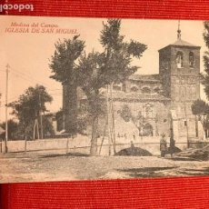 Postales: MEDINA DEL CAMPO VALLADOLID IGLESIA DE SAN MIGUEL. Lote 169355512