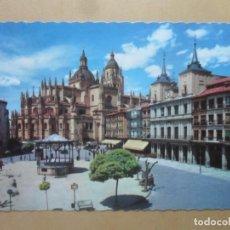 Postales: POSTAL - 502 - SEGOVIA - PLAZA DEL GENERAL FRANCO - ED. GARCIA GARRABELLA. Lote 169409644