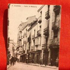 Postales: ZAMORA ANTIGUA DEL AYER DE ZAMORA CALLE DE RENOVA PLAN GENERAL DEL URBANISMP DE ZAMORA 1986. Lote 169456196