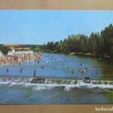 Postales: POSTAL - ALMAZAN (SORIA) - PANORAMICA PLAYA - EXCLUSIVAS J. MOLINA. Lote 169556912