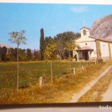 Postales: POSTAL VELILLA DEL RIO CARRION - ERMITA NTRA.SRA.AREÑOS. Lote 169939100