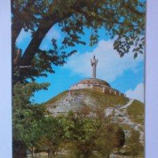 Postales: POSTAL CRISTO DEL OTERO PALENCIA. Lote 170003044