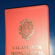 Postales: LIBRO DE POSTALES DE SALAMANCA MONUMENTAL. Lote 170009716