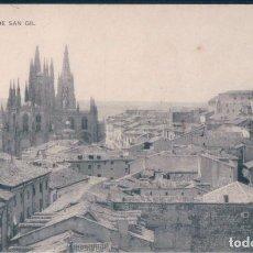 Postales: POSTAL BURGOS - VISTA DESDE SAN GIL - HAUSER Y MENET. Lote 170168928