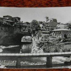 Postales: FOTO POSTAL DE VILLACARYO, BURGOS, PUENTEDEY, IMP. Y LIB. GARCIA, NO CIRCULADA.. Lote 170185364