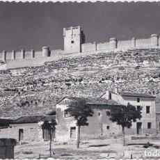 Postales: PEÑAFIEL (VALLADOLID) - VISTA DEL CASTILLO. Lote 170325424