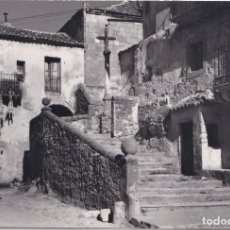 Postales: SEPULVEDA (SEGOVIA) - SUBIDA A SAN BARTOLOME. Lote 171076457