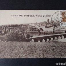 Postales: ALBA DE TORMES VISTA GENERAL. Lote 171447604