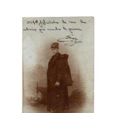 Postales: SEGOVIA.- 1906. POSTAL FOTOGRÁFICA CADETE ACADEMIA DE ARTILLERÍA.. Lote 171588663