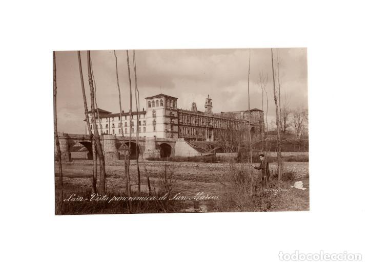 LEÓN.- VISTA PANORAMICA DE SAN MARCOS. FOTO MÁRGARA. (Postales - España - Castilla y León Antigua (hasta 1939))