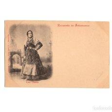 Postales: RECUERDO DE SALAMANCA.- UNA CHARRA.. Lote 171665003