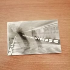 Postales: POSTAL SAN RAFAEL TUNEL DE GUADARRAMA INTERIOR SIN CIRCULAR. Lote 172297452